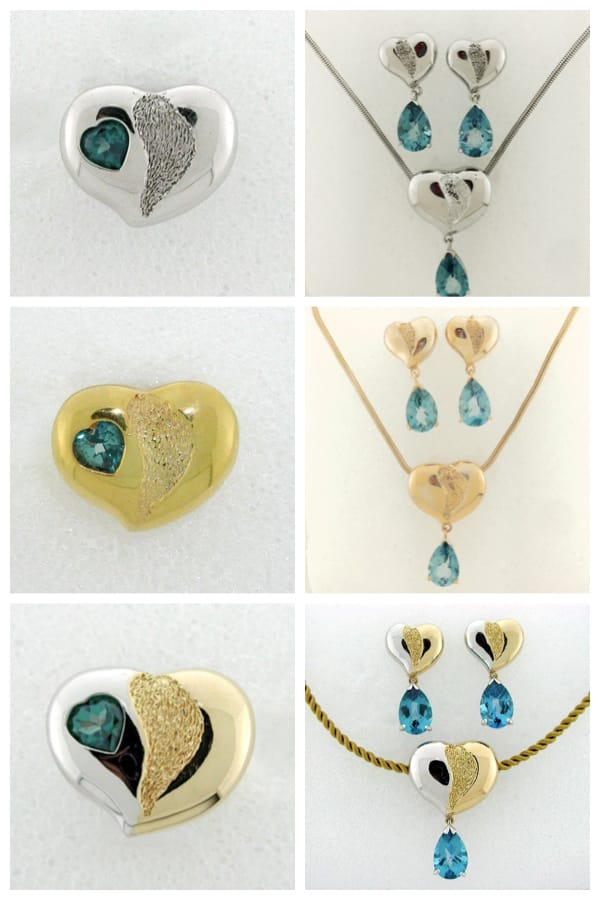 Healing Hearts Jewelry Collection by Tamara