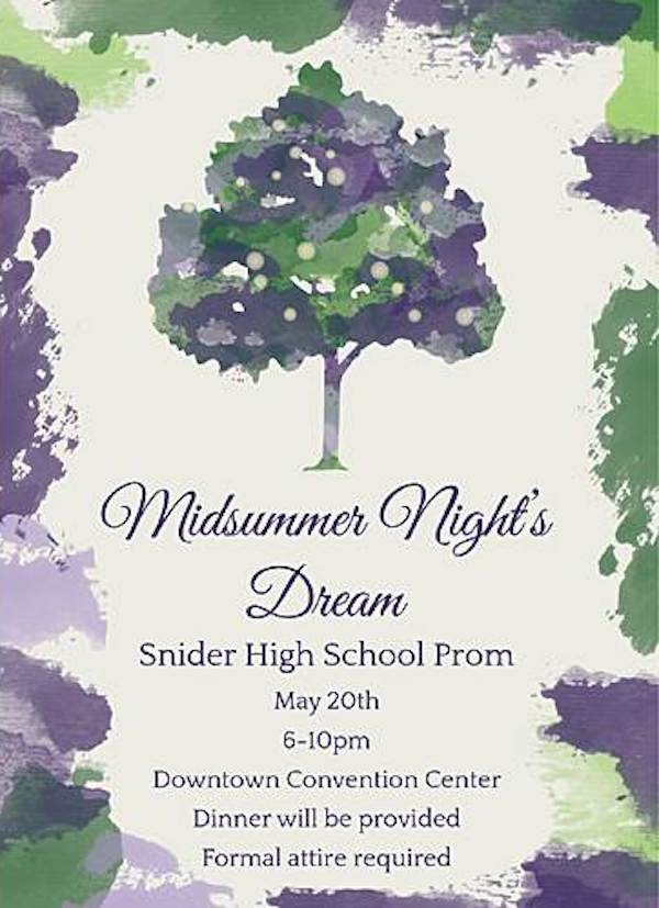 Midsummer Night's Dream Personalized Invitations