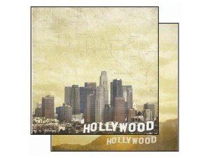 Hollywood Scrapbook Paper Placemats