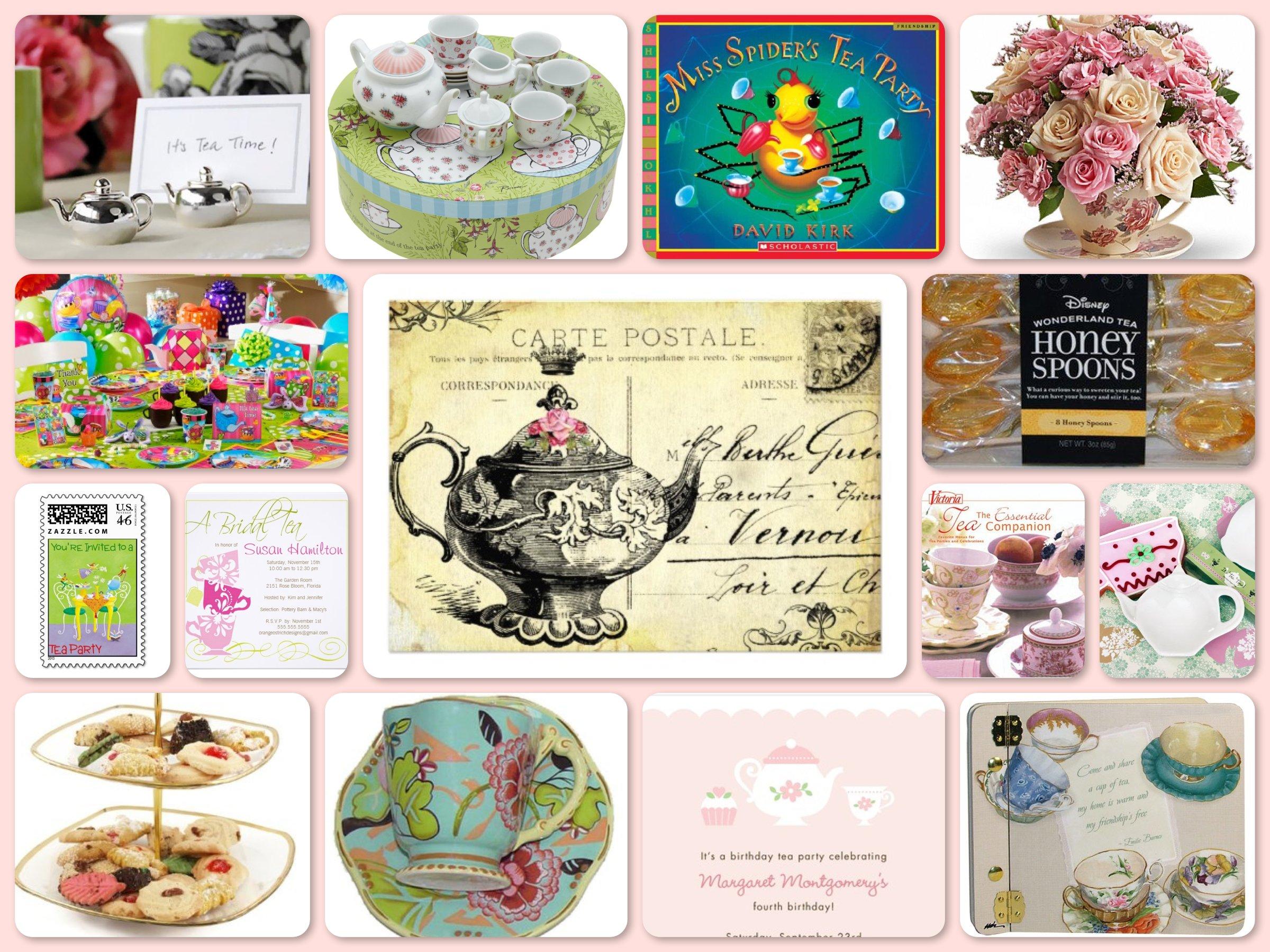 Tea Party Planning, Ideas & Supplies