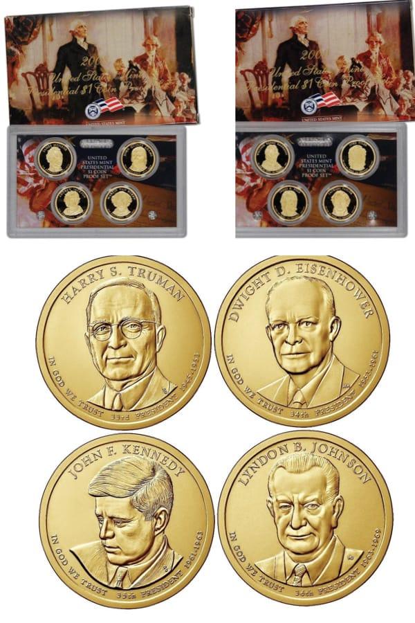 Presdiential Golden Dollars