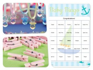 Baby Shower Party Game Ideas, Prizes, and Supplies