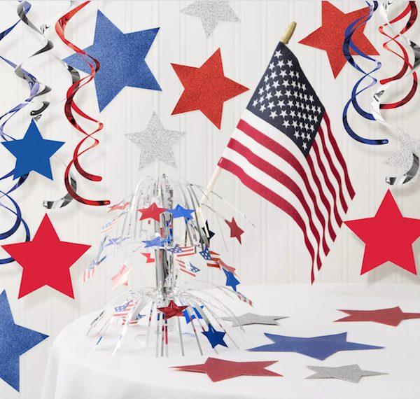 Patriotic Decorations Kit