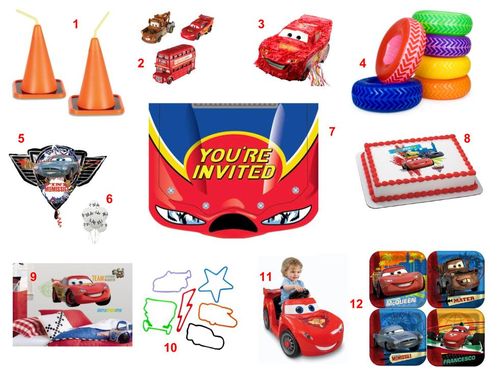 Disney- Cars Theme Party, Idea & Supplies