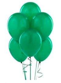 Jade Green Balloons