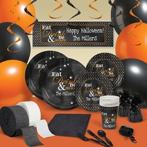 Eat, Drink and Be Scary Personalized Party Pack