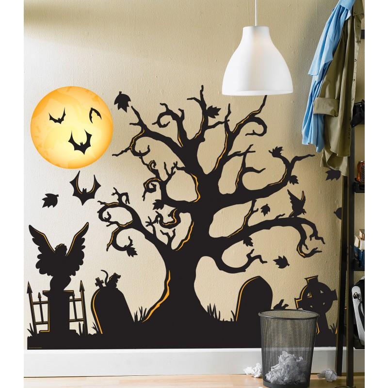 Wall Decor Halloween : Best halloween party supplies gift ideas decorations