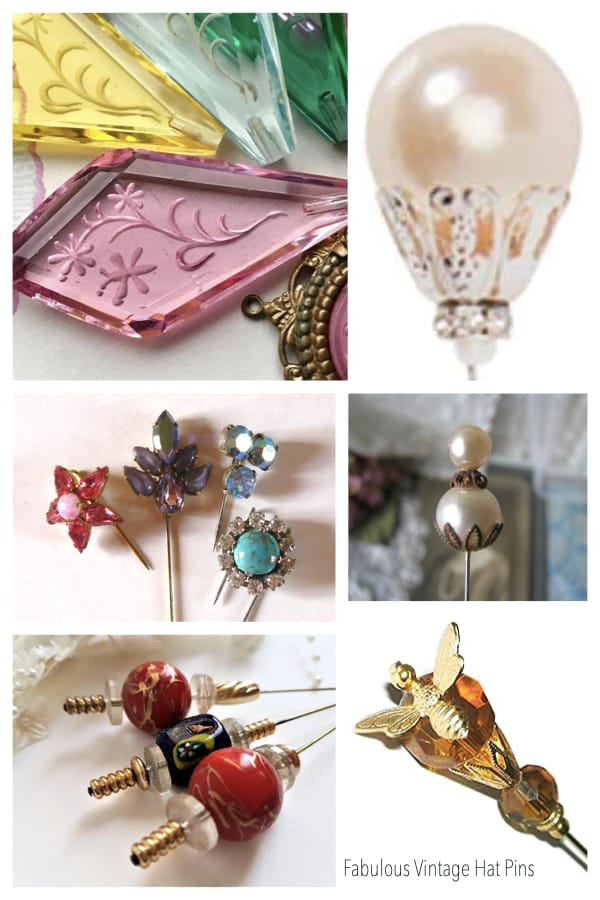 Fabulous Vintage Hat Pins