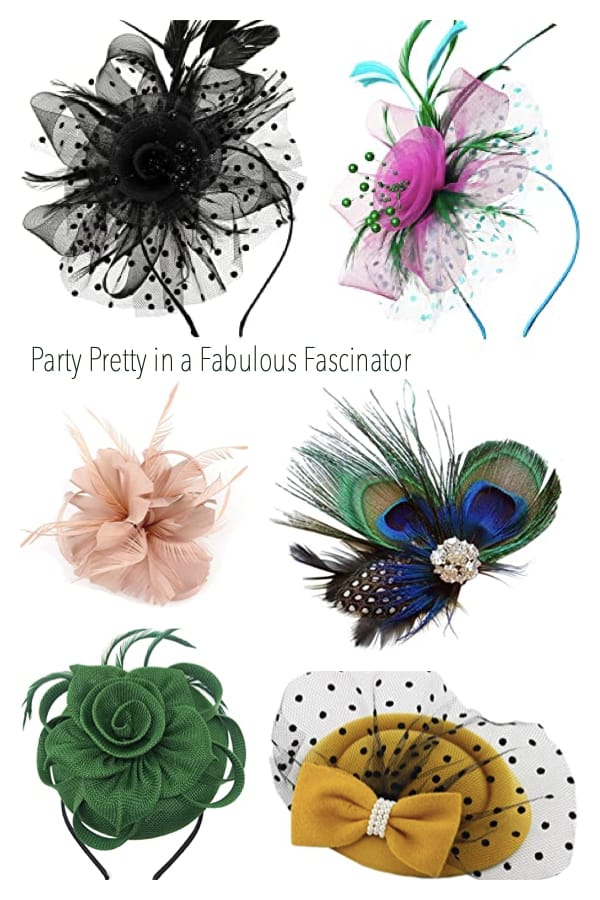 Party Pretty in a Fabulous Fascinator