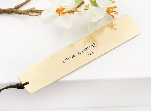 Believe in Yourself Bookmark