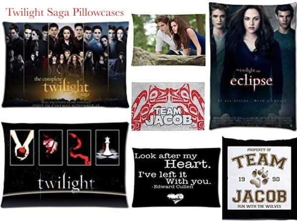 Twilight Saga Pillowcases