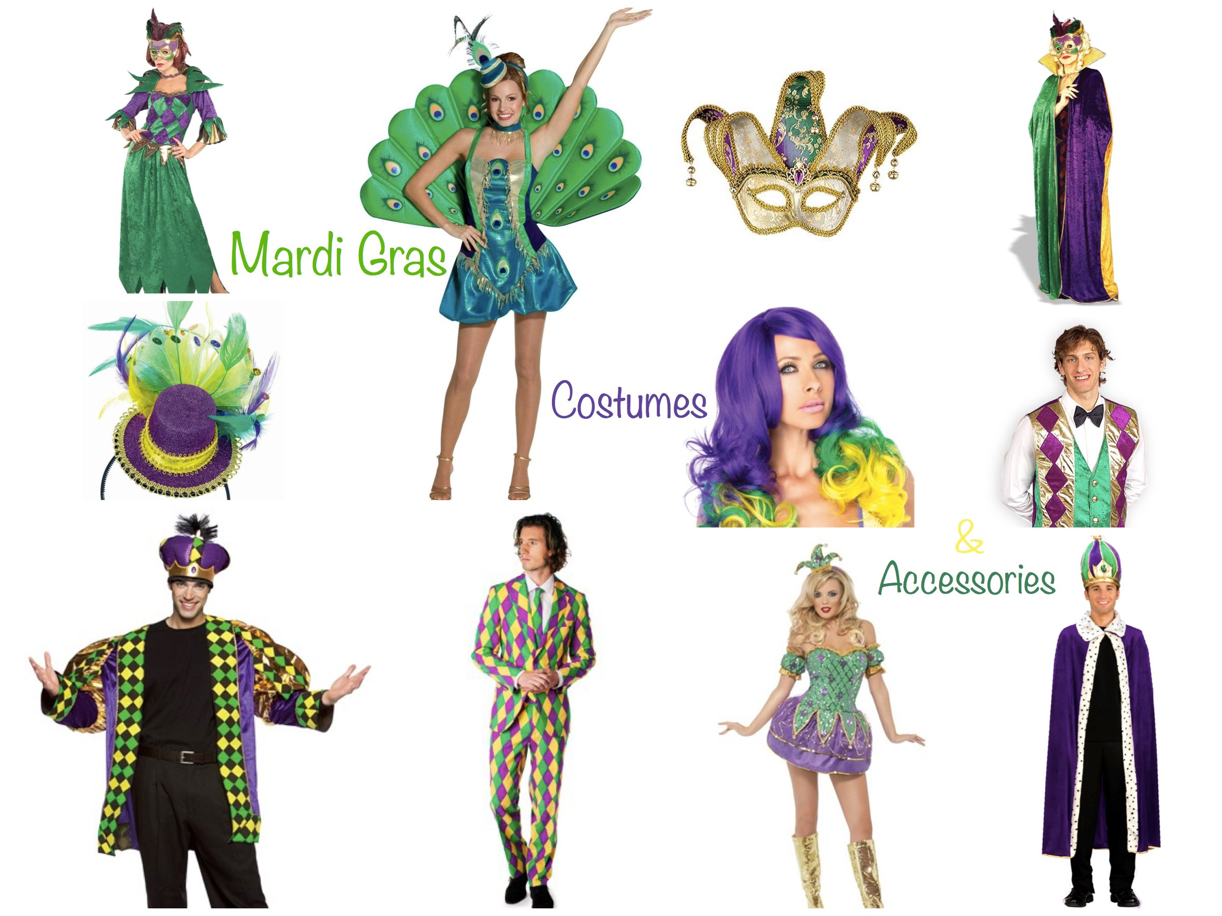 Mardi Gras Costumes Accessories