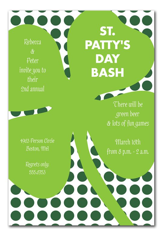 St Patricks Day Party Planning, Ideas & Supplies