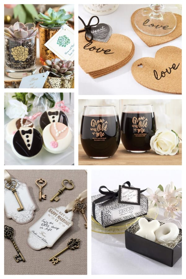Most Popular Wedding Favors