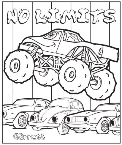 personalized coloring pages - photo#17