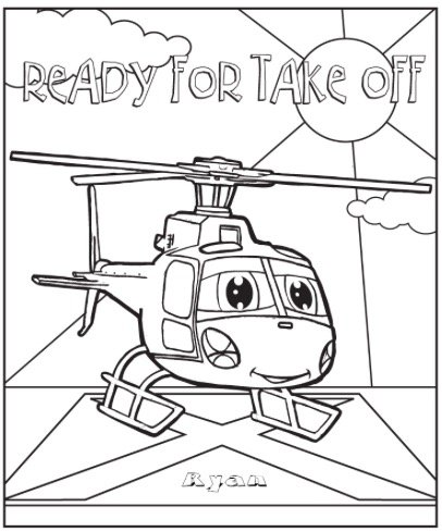 custom coloring pages free - photo#25