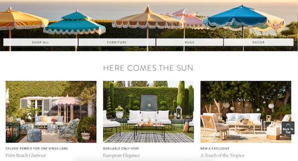 Here Comes the Sun Outdoor Entertaining Sale