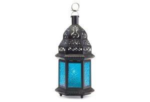 Moroccan Lanterns, Blue