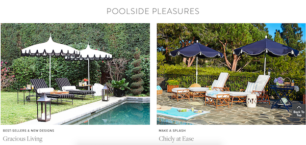 Poolside Pleasures Entertaining Outdoor Entertaining Sale