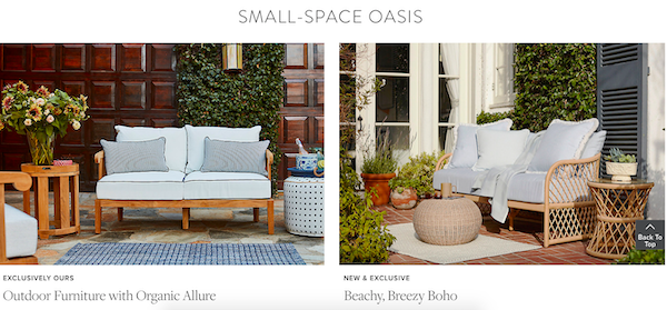 Small Space Oasis Outdoor Entertaining Sale