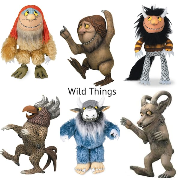 Where the Wild Things Are Plush Toys