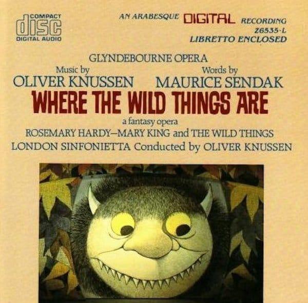 Where the Wild Things Are Maurice Sendak Opera