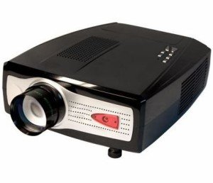 LCD Video Projector (Includes HDMI Cable & Extra Bulb)