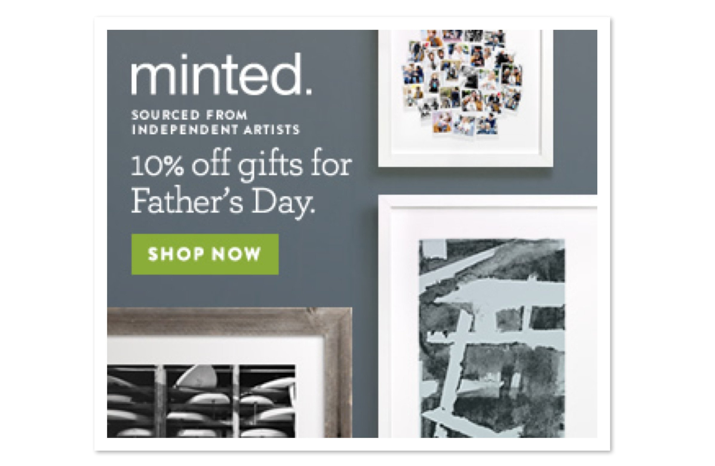 Minted Fathers Day Sale
