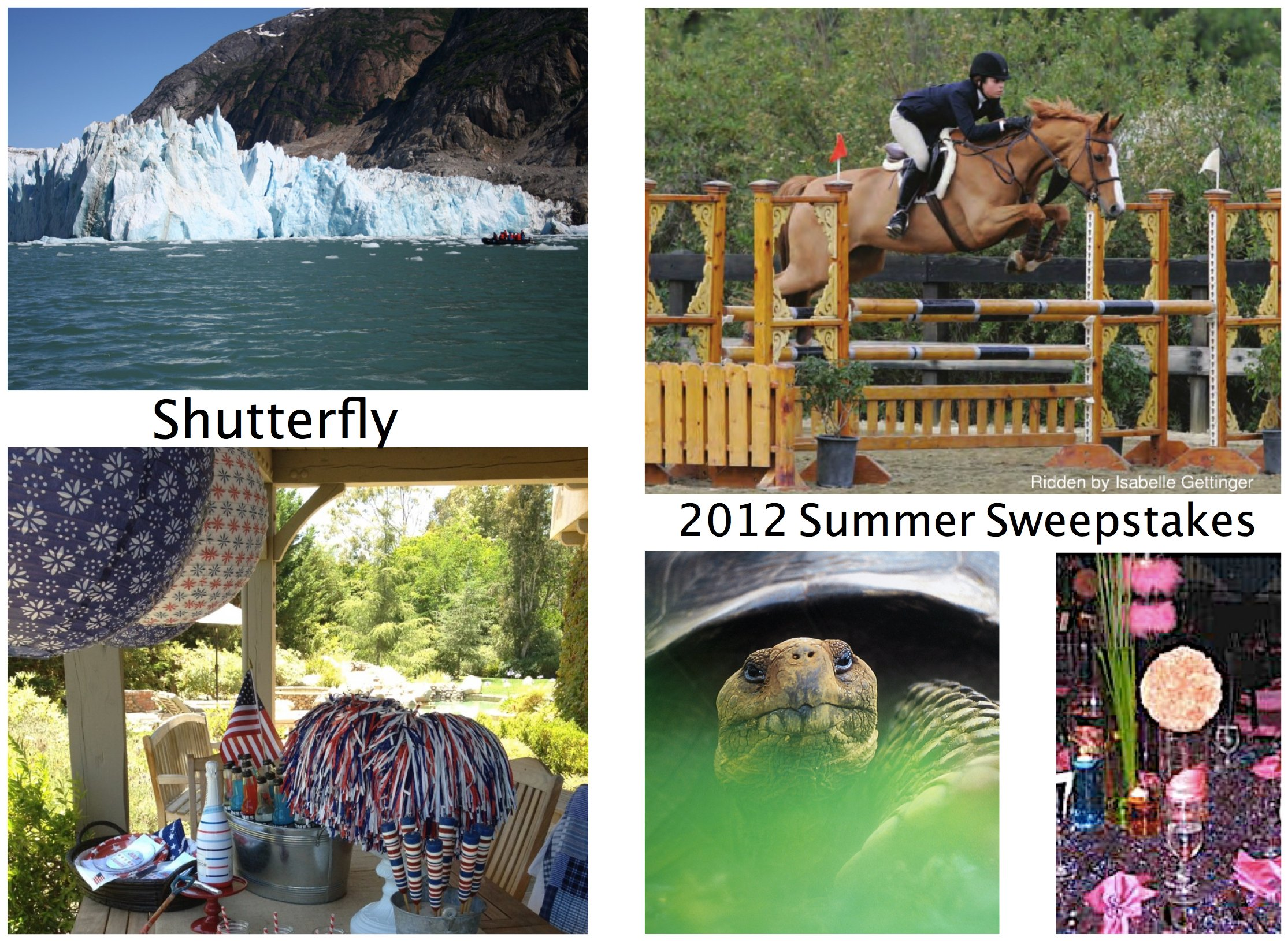 Shutterfly 2012 Summer Sweepstakes