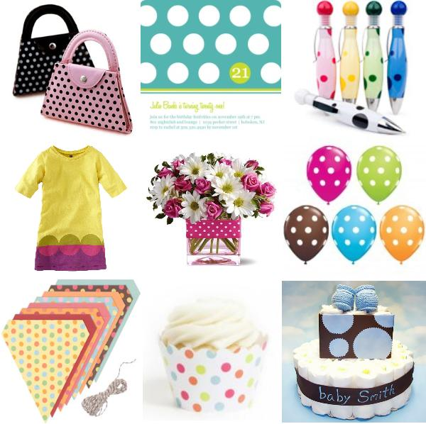 Polka Dot Party Planning, Ideas, and Supplies