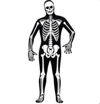 Book of Mormon Spooky Hell Dream Skeleton Costume