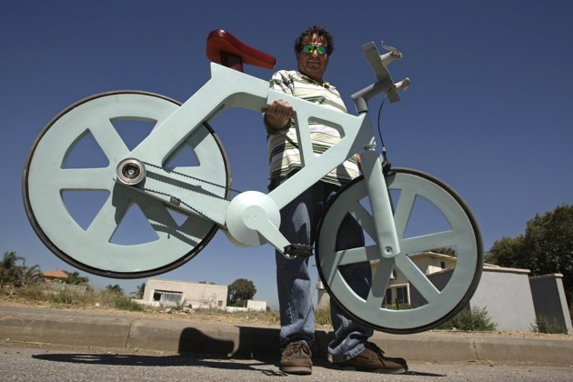 Cardboard bike, inexpensive bicycles, holiday gifts