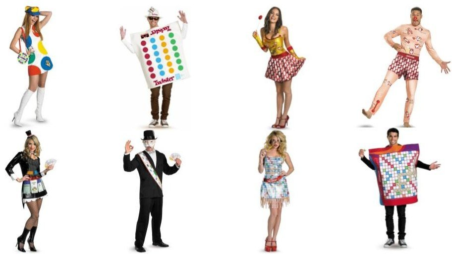 Gameboard Costumes for Couples. Halloween costumes, game night party, group costumes