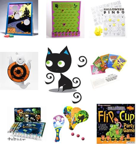 Halloween Games, party activities, children's party ideas, printable games, pinatas