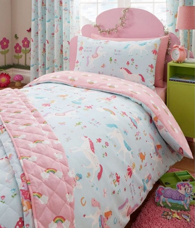 Unicorn Room Decor >> Magical Unicorn Duvet Set