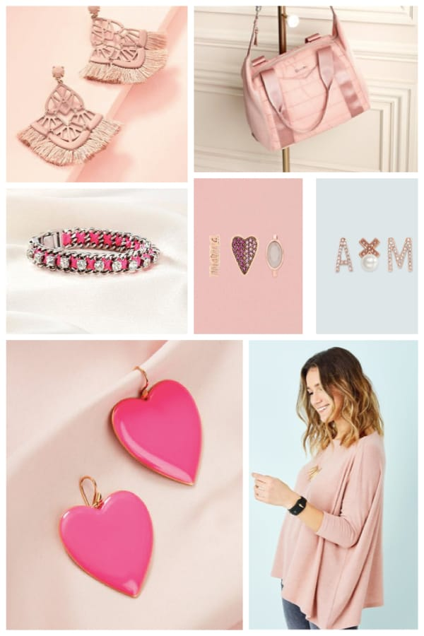 Pink Jewelry and Accessaries
