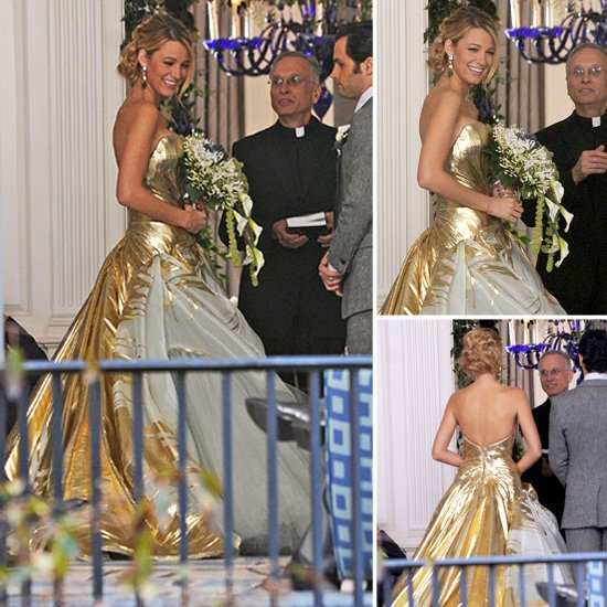 Serenas Gossip Girl Wedding Dress Pictures, Blake Lively, 2013 wedding dress trends