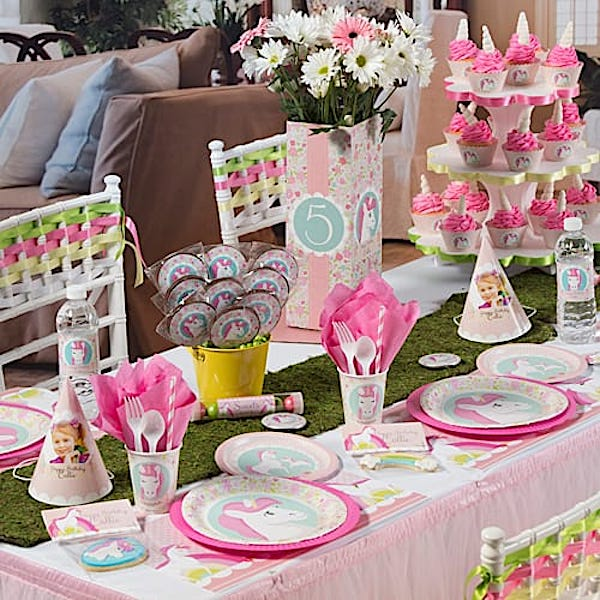 Unicorn Themed Party PLanning Ideas and Supplies