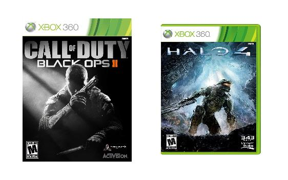 Best Holiday Video Game Gifts Halo 4 & Call of Duty Black Ops 2, holiday gifts, gamer gifts,