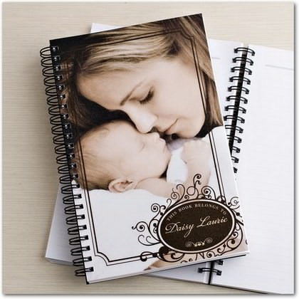 Elegant Decal Notebook