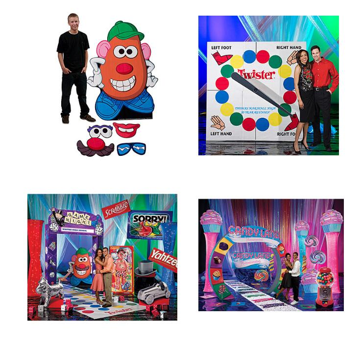 Game Night Party Props and Decorations, game party supplies, prom decor,