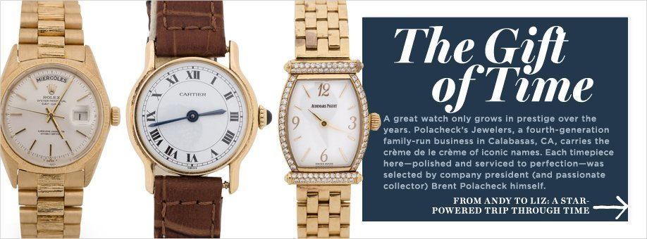 One Kings Lane Luxury Sale, The Gift of Time, watches, holiday gifts