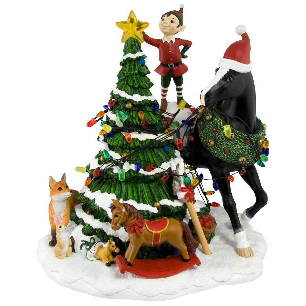 Christmas Centerpiece for the Horse Lover