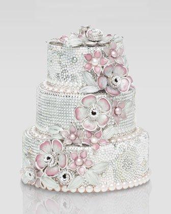 Judith Leiber Wedding Cake Clutch Bag, purse
