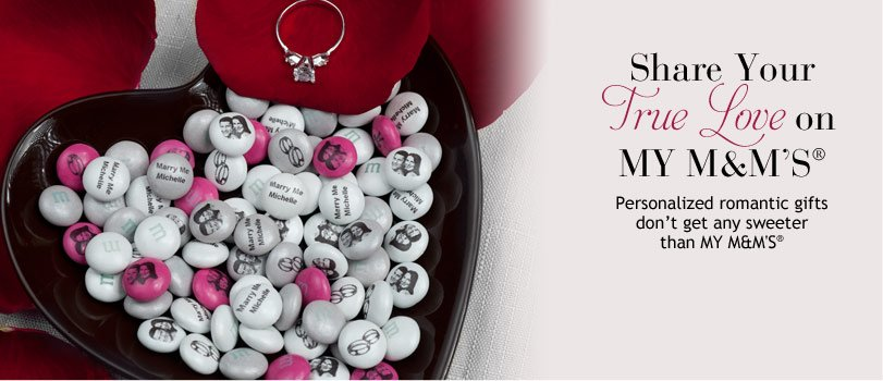 M& M's Romantic Gifts