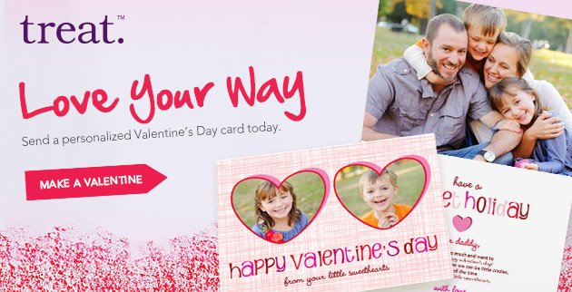 Tell Them you Love Them Your Way this Valentine's Day!
