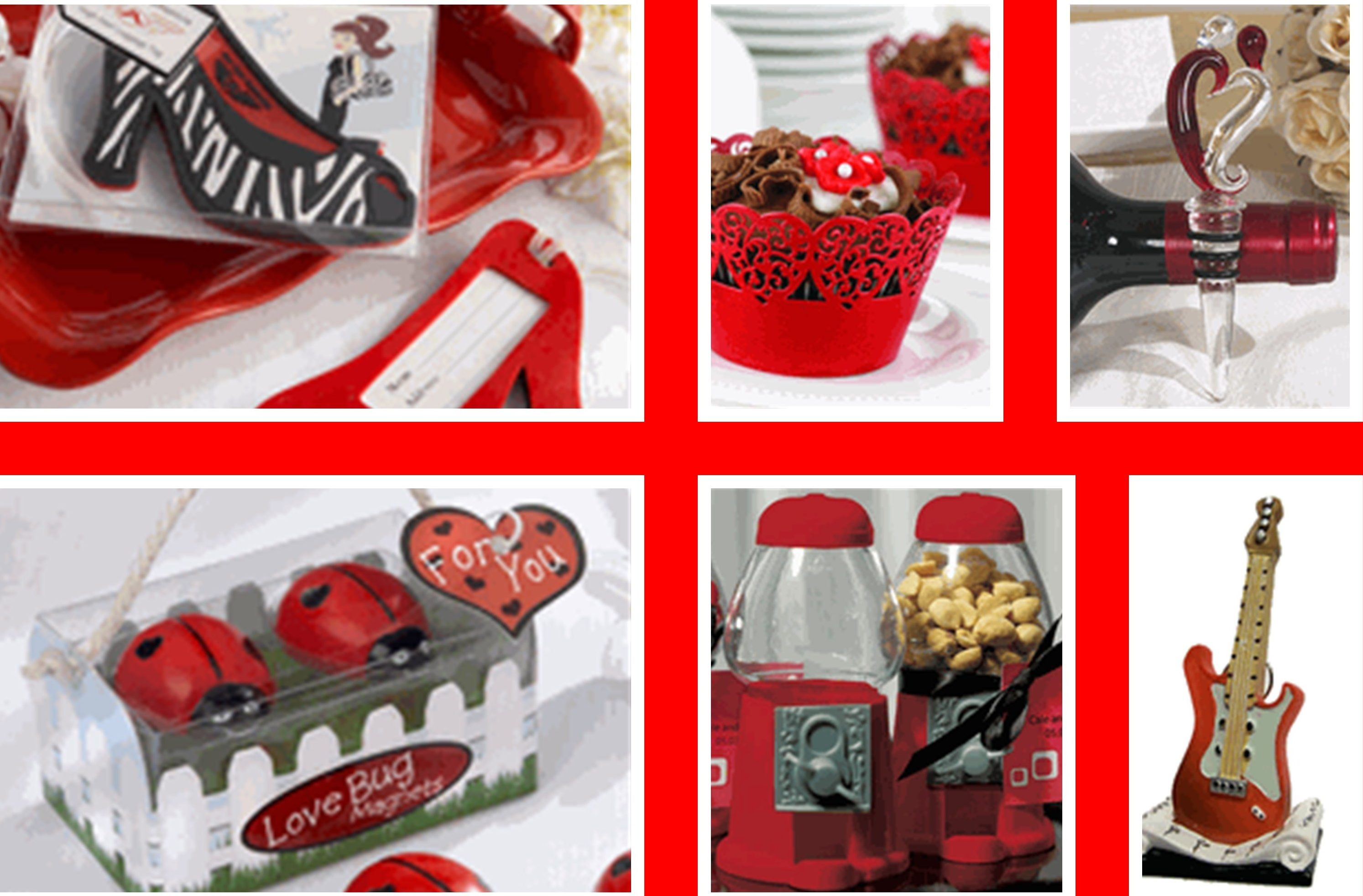 Red Party Favors