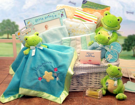 Royal Baby Gift Basket