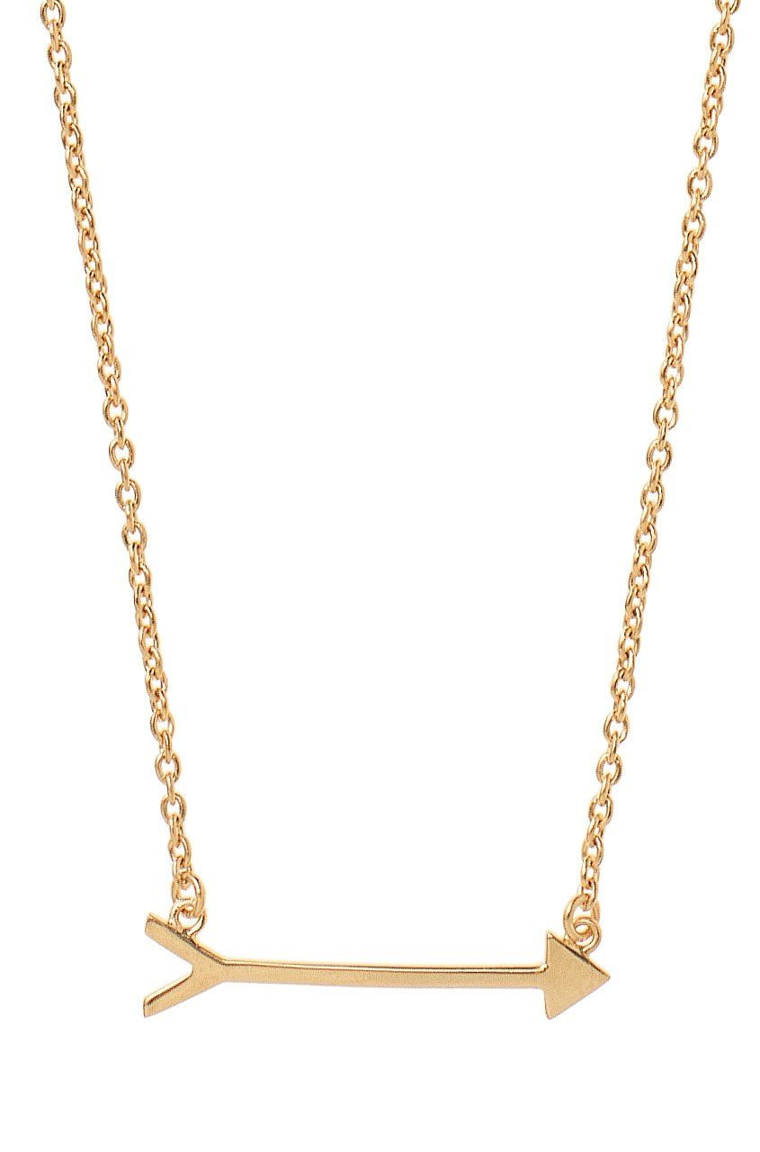 Stella & Dot On the Mark Arrow Necklace