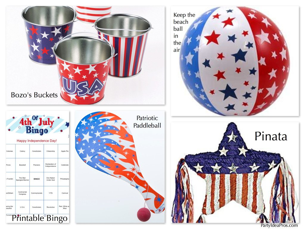 Fun & Games for your Patriotic July Fourth Party